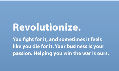 Revolutionize.