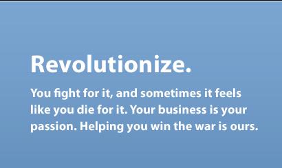 Revolutionize.